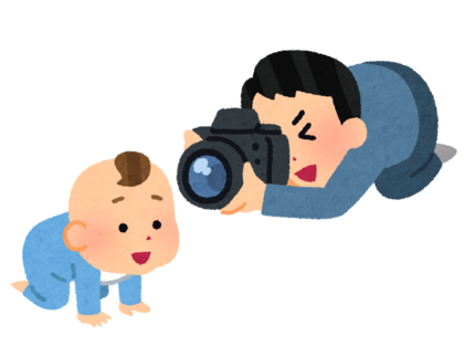 irasutoya-camera_baby_father.png